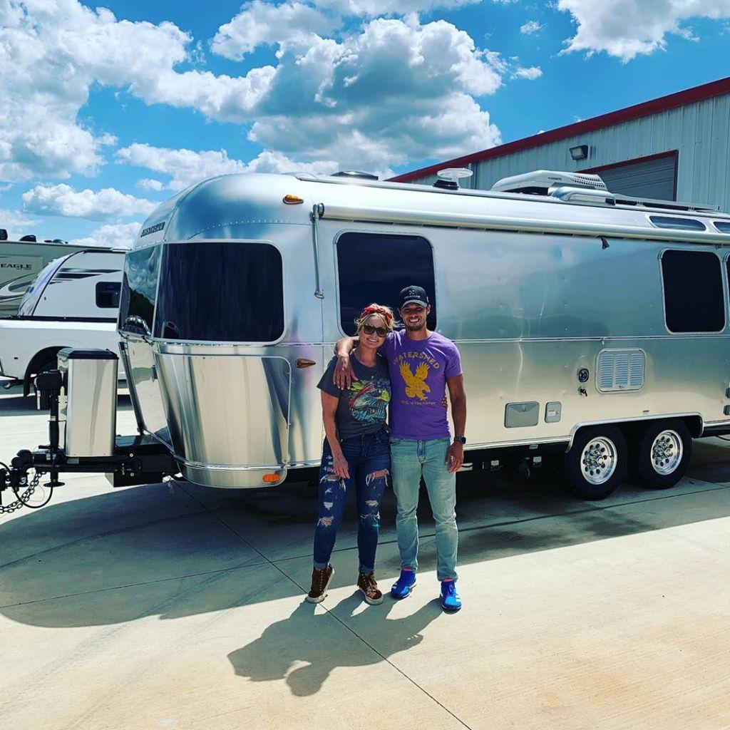 Miranda Lambert and Brendan McLoughlin RV