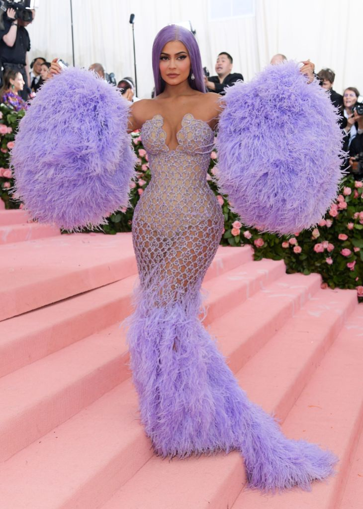 Kylie Jenner Purple Met Gala 2019 Look