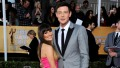 Glee Star Lea Michele and Late Boyfriend Cory Monteith Pose on Red Carpet Before Death Relationship Timeline