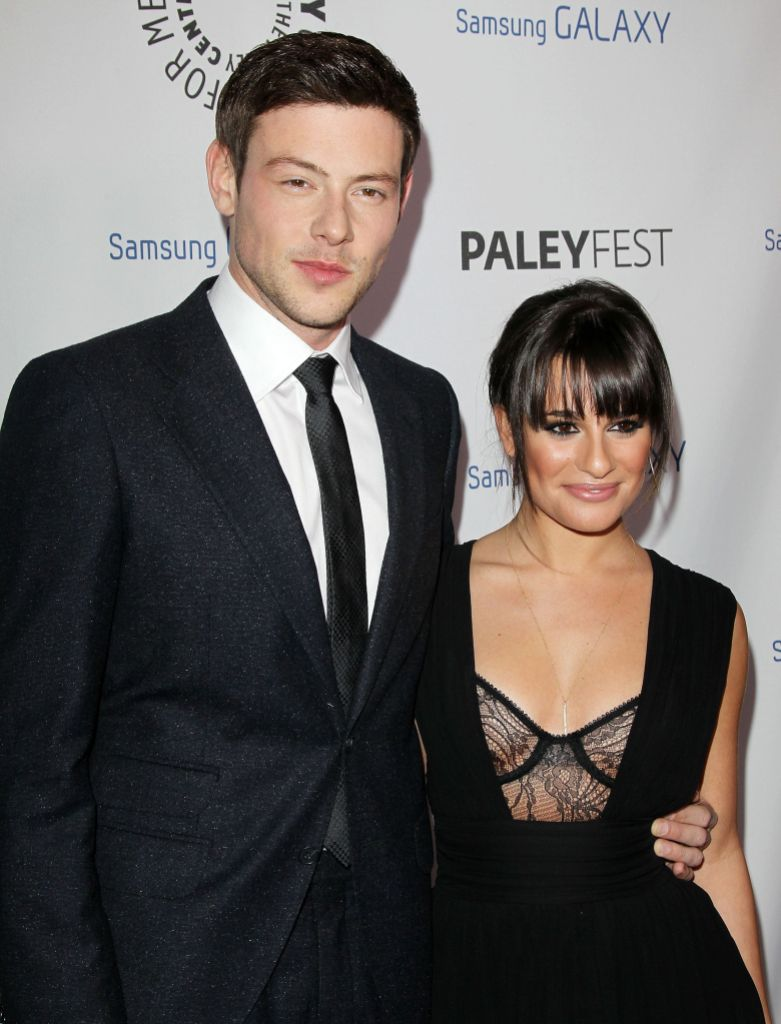 Cory Monteith and Lea Michele Smile Together on Red Carpet