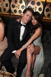 Glee Costars Lea Michele and Matthew Morrison in Black Tie