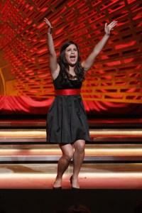 Lea Michele Singing As Rachel Berry on Glee