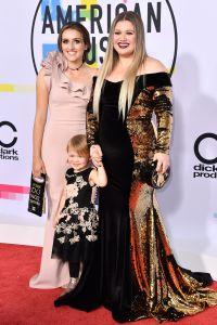 Savannah Blackstock, Kelly Clarkson and River Rose Blackstock