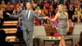 Bachelorette Clare Crawley Smiles With Chris Harrison