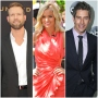 Bachelor Travis Stork in Suit Bachelorette Emily Maynard in Pink Dress and Arie Luyendyk Jr in Suit