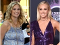 Carrie Underwood Young on American Idol and Now