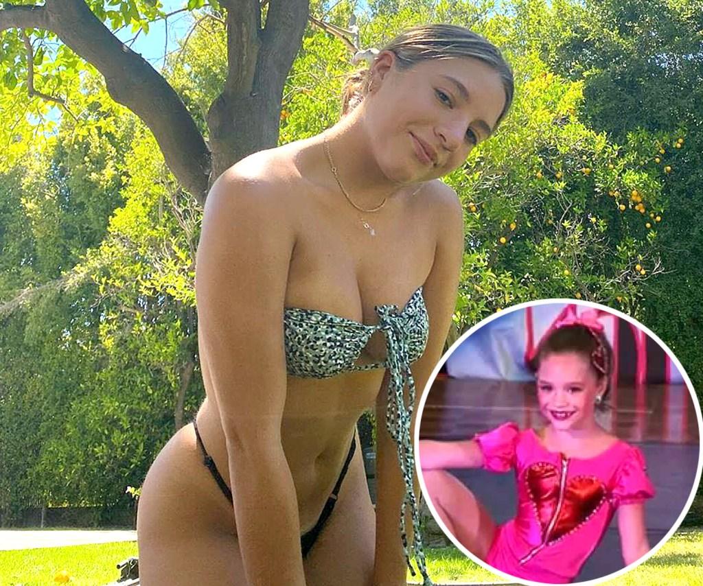 Mackenzie Ziegler Cast Dance Moms Then Now
