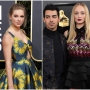 Taylor Swift Sends Joe Jonas and Sophie Turner Baby Gift Split Image