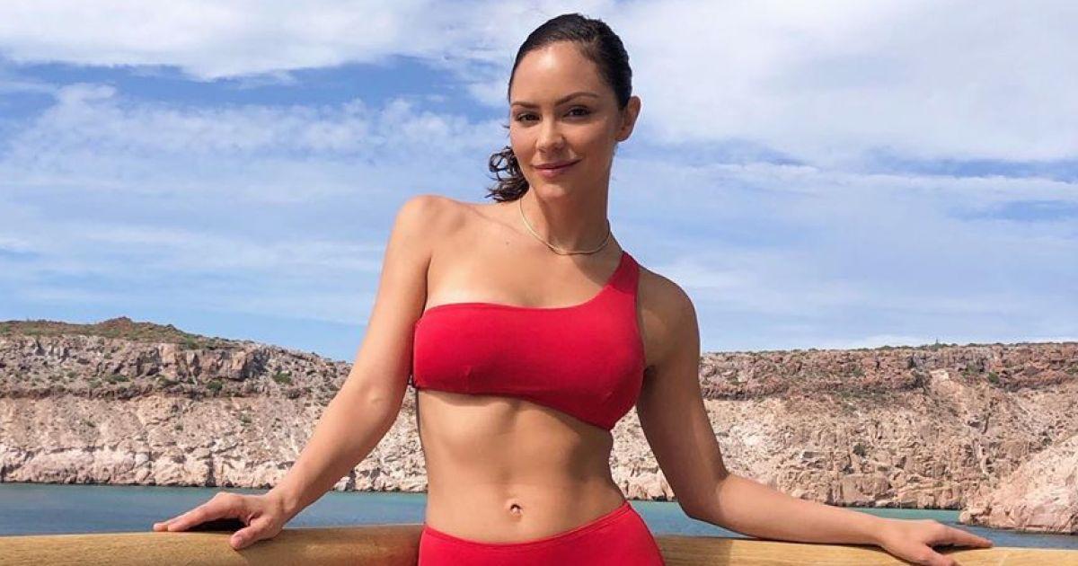 Katharine Mcphee Red Bikini