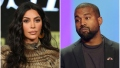 Kim Kardashian Looks Upset Kanye West Looks Sad on Stage