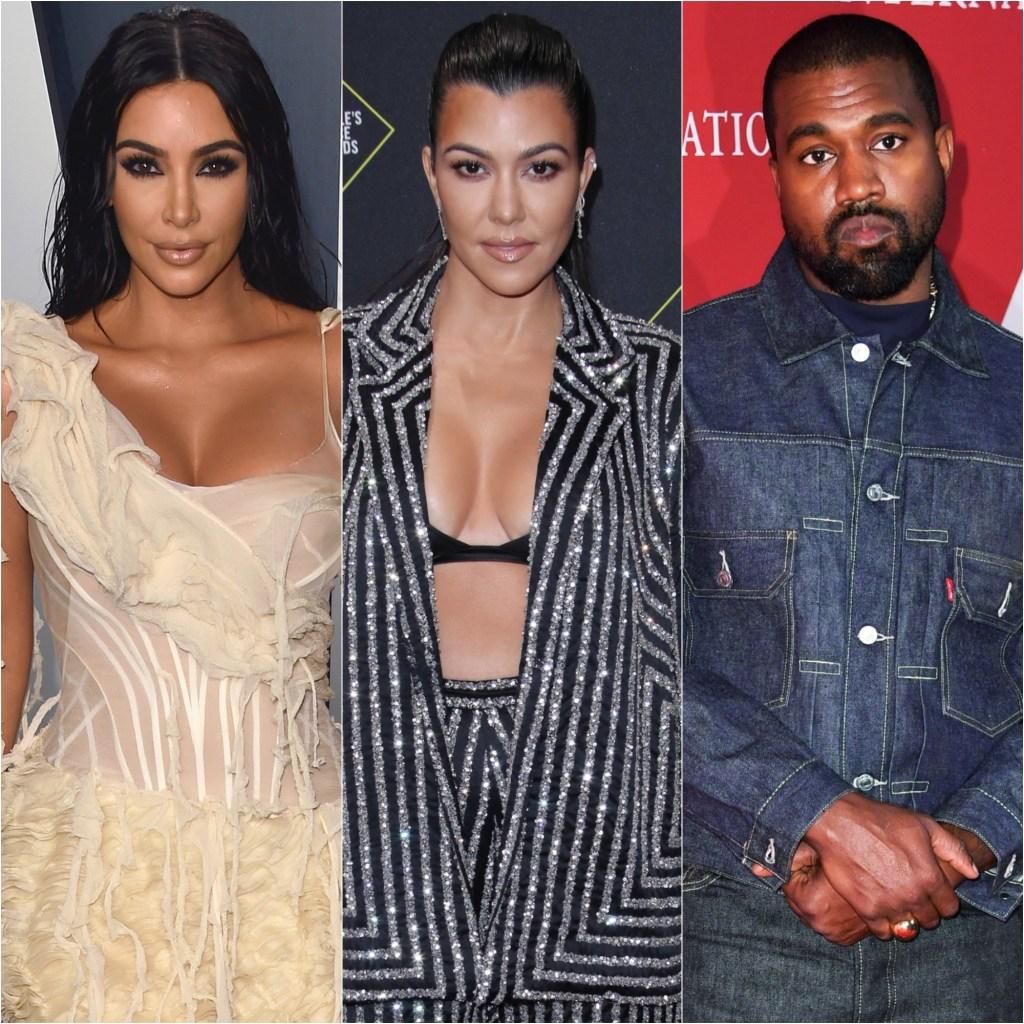 Kim Kardashian Leaning on Kourtney Kardashian Following Kanye West Controversy