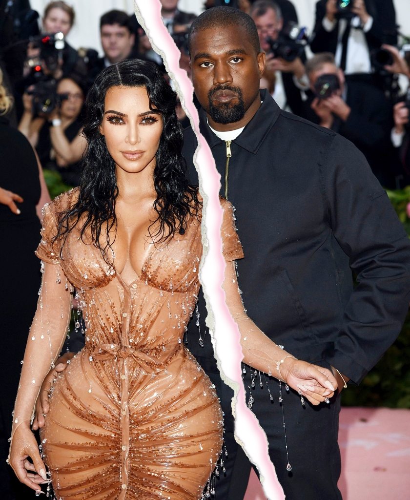 Kim Kardashian and Kanye West Split After 6 Years of Marriage