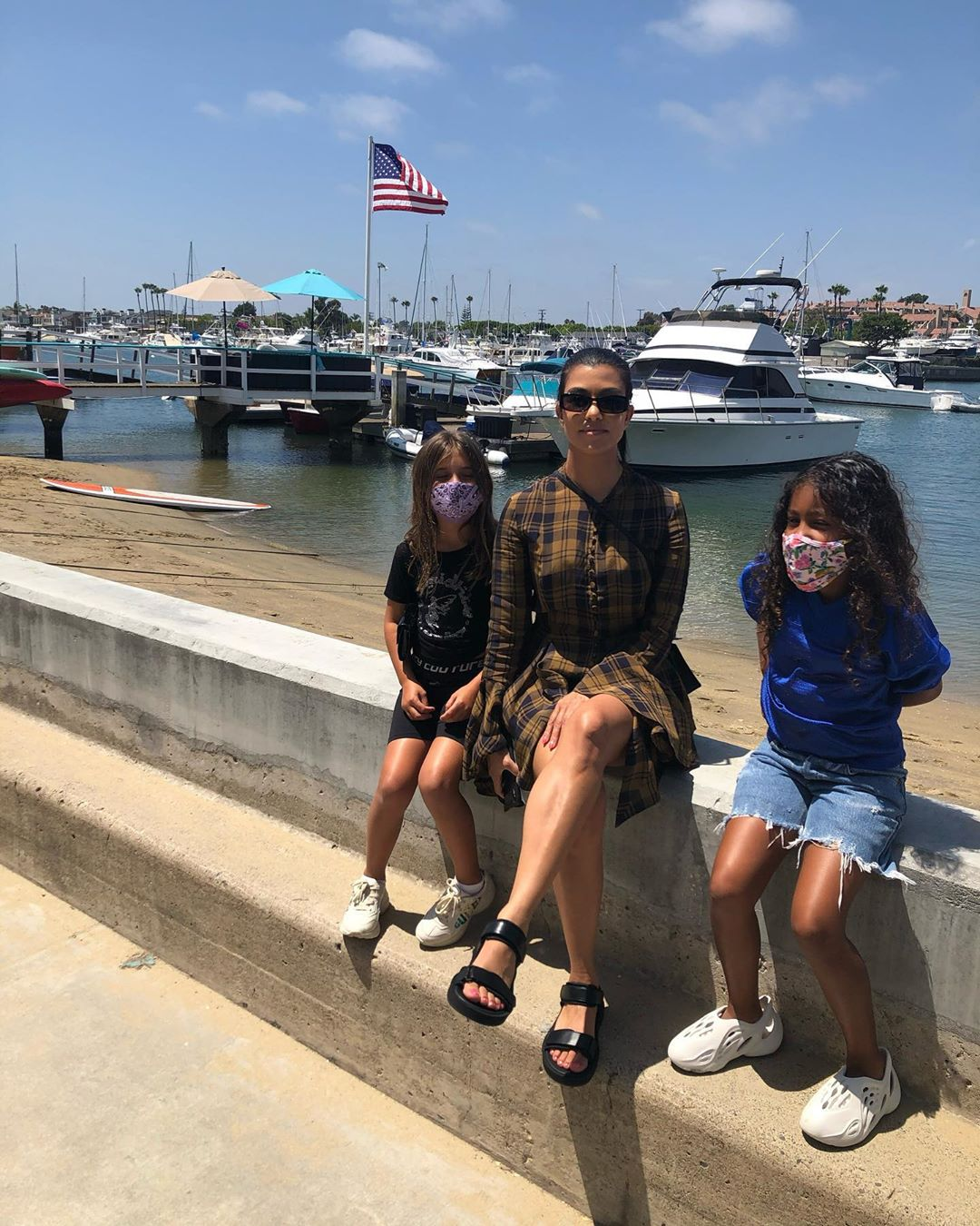 Kourtney Kardashian Takes Kim Kardashian's Kids on Vacation Amid Kanye West Controversy