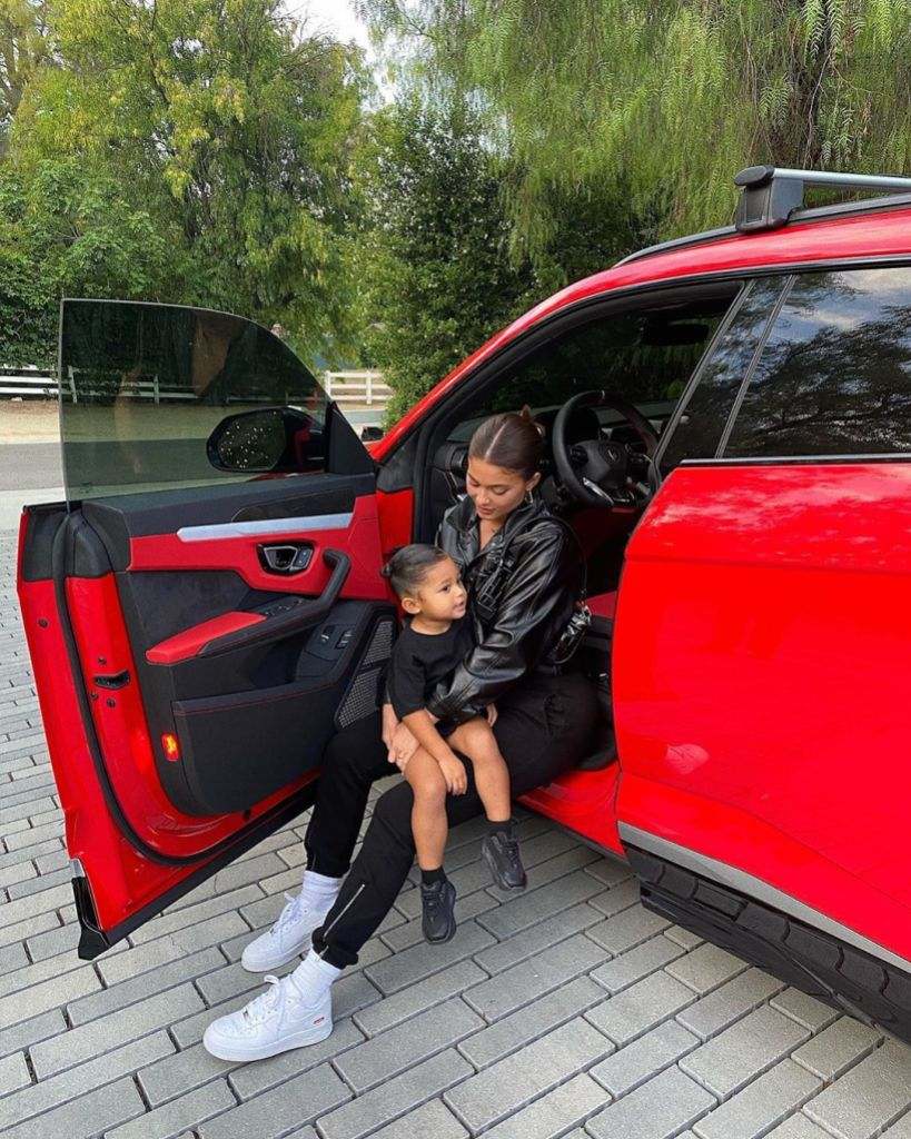 Kylie Jenner Customizes Rolls-Royce in Honor of Daughter Stormi Webster