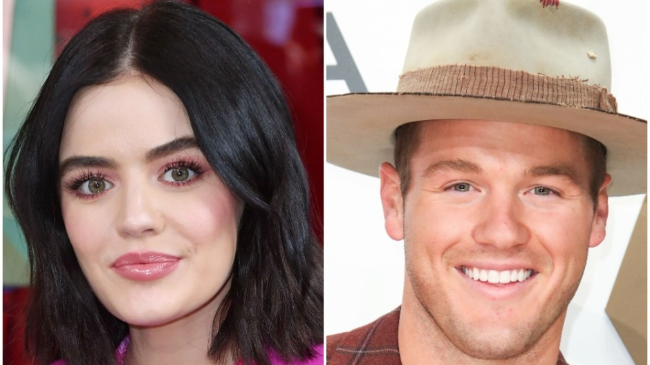Lucy Hale and Colton Underwood