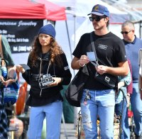 Jacob Elordi and Girlfriend Zendaya Out in Los Angeles