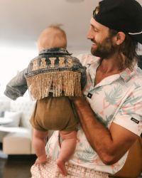 Maren Morris Son in Cute Jacket Held By Husband Ryan Hurd