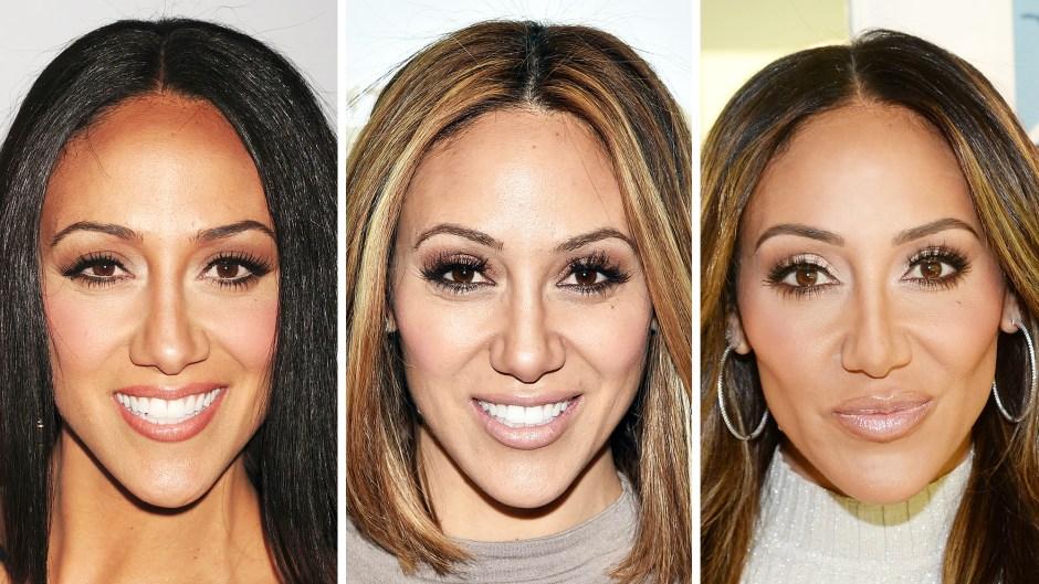Melissa Gorga in 2011 2016 and 2020 Melissa Gorga Nose Job Plastic Surgery