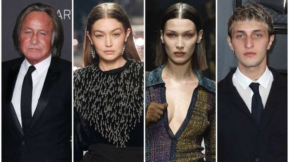 Mohamed Hadid In Suit Gigi and Bella Hadid on Catwalk Anwar Hadid in Suit on Red Carpet