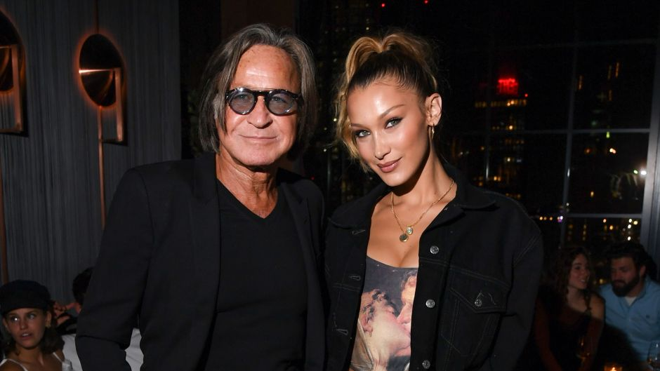 Mohamed and Bella Hadid