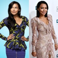 Naya Rivera Glee Then and Now