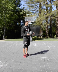 Stephen and Ayesha Curry Home Tour Basketball Court
