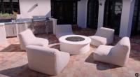 Kendall Jenner House Tour 30 Backyard Fire Pit