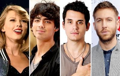 Taylor Swift Ex Boyfriends Joe Jonas John Mayer Calvin Harris