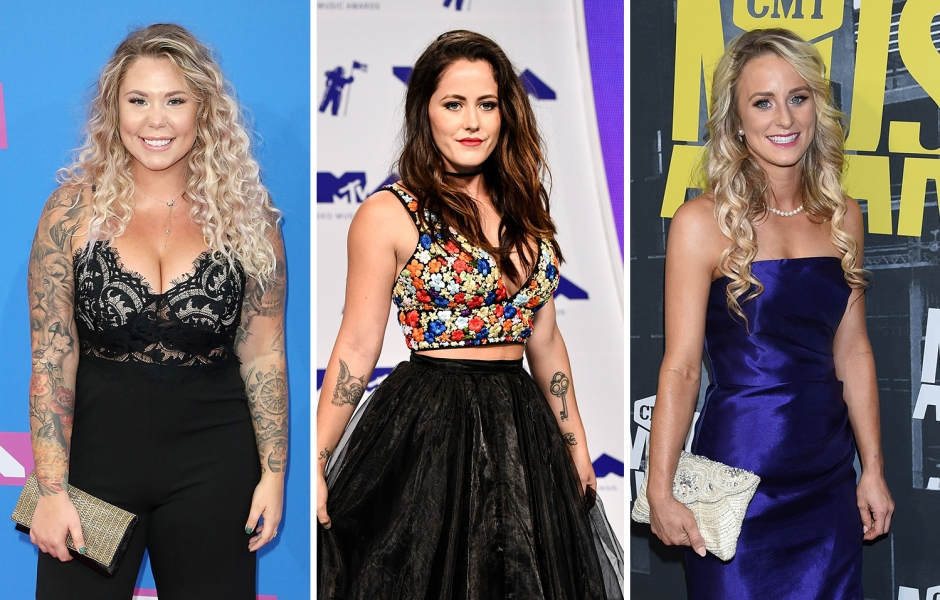 Side-by-Side Photos of Kailyn Lowry, Jenelle Evans and Leah Messer