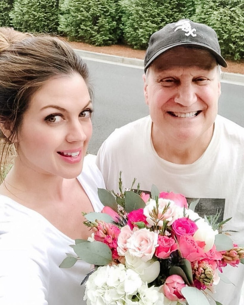 Kristy Katzmann and Father