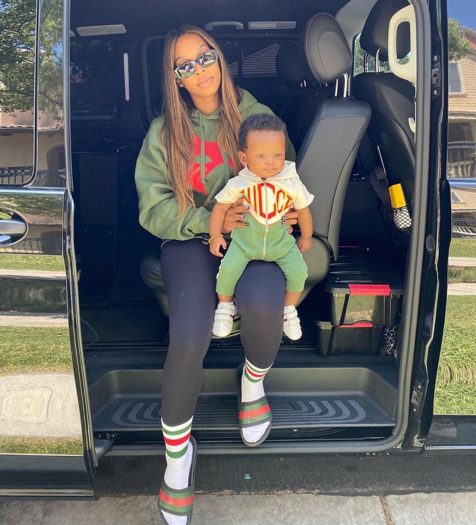 Malika Haqq Baby Gallery Son Ace Photos Matching Outfits