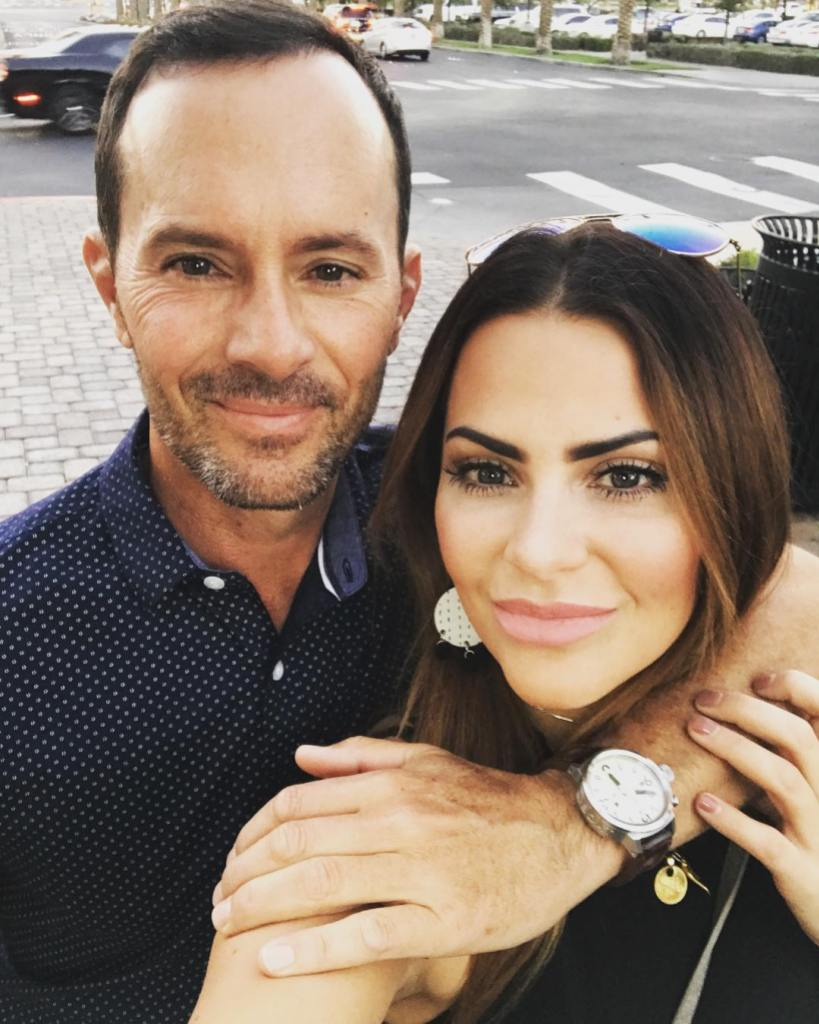 Bachelor contestant Michelle Money and Boyfriend Mike Weir