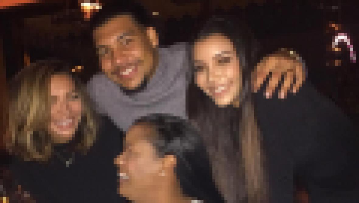 Naya Rivera With Brother Mychal Sister Nickayla and Mom Yolanda