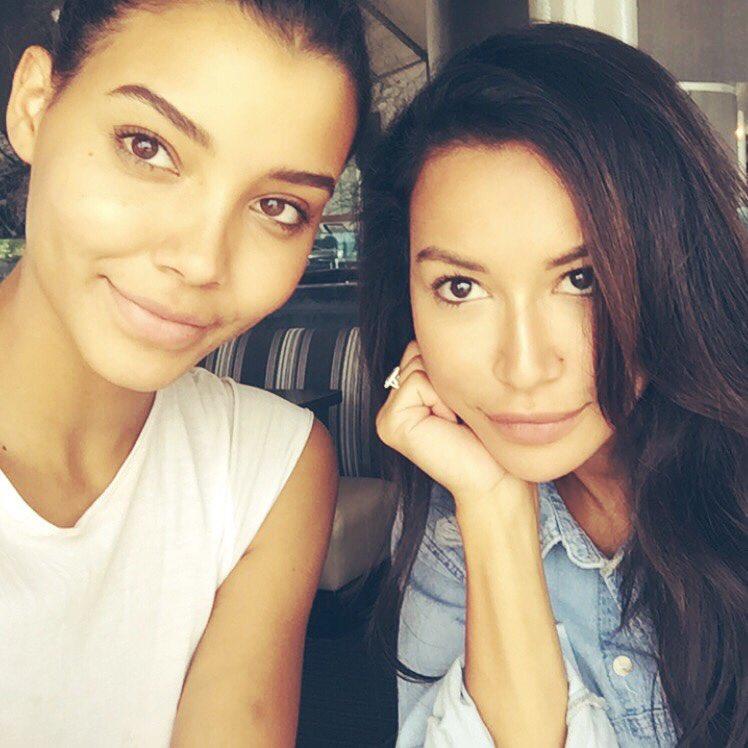 Naya Rivera and Sister Nickayla