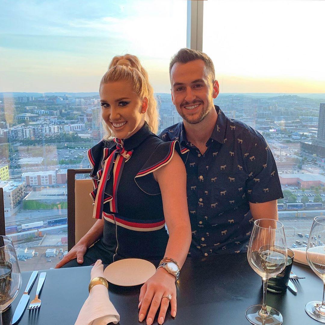 Savannah Chrisley Smiles at Dinner With Boyfriend Nic Kerdiles