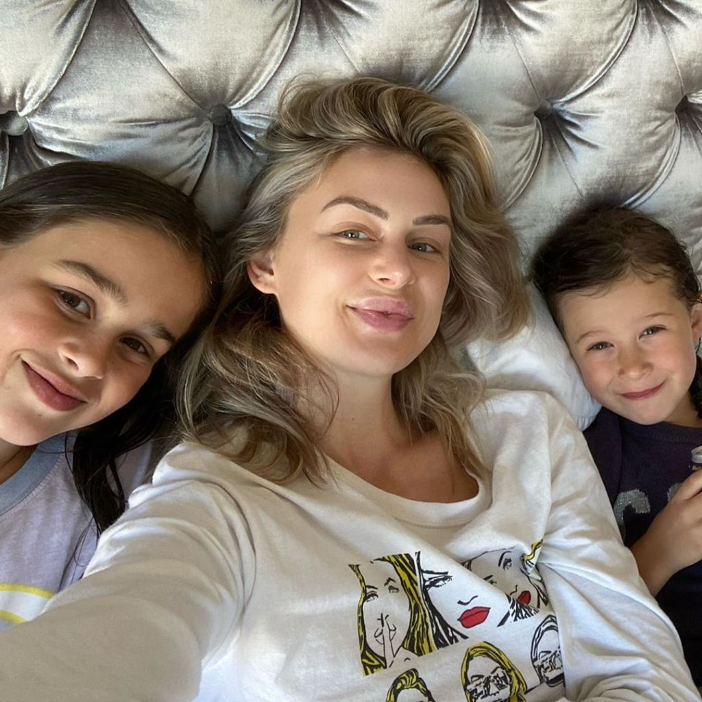 Lala Kent with Randall Emmett's Daughters London and Rylee After Deleting Photos