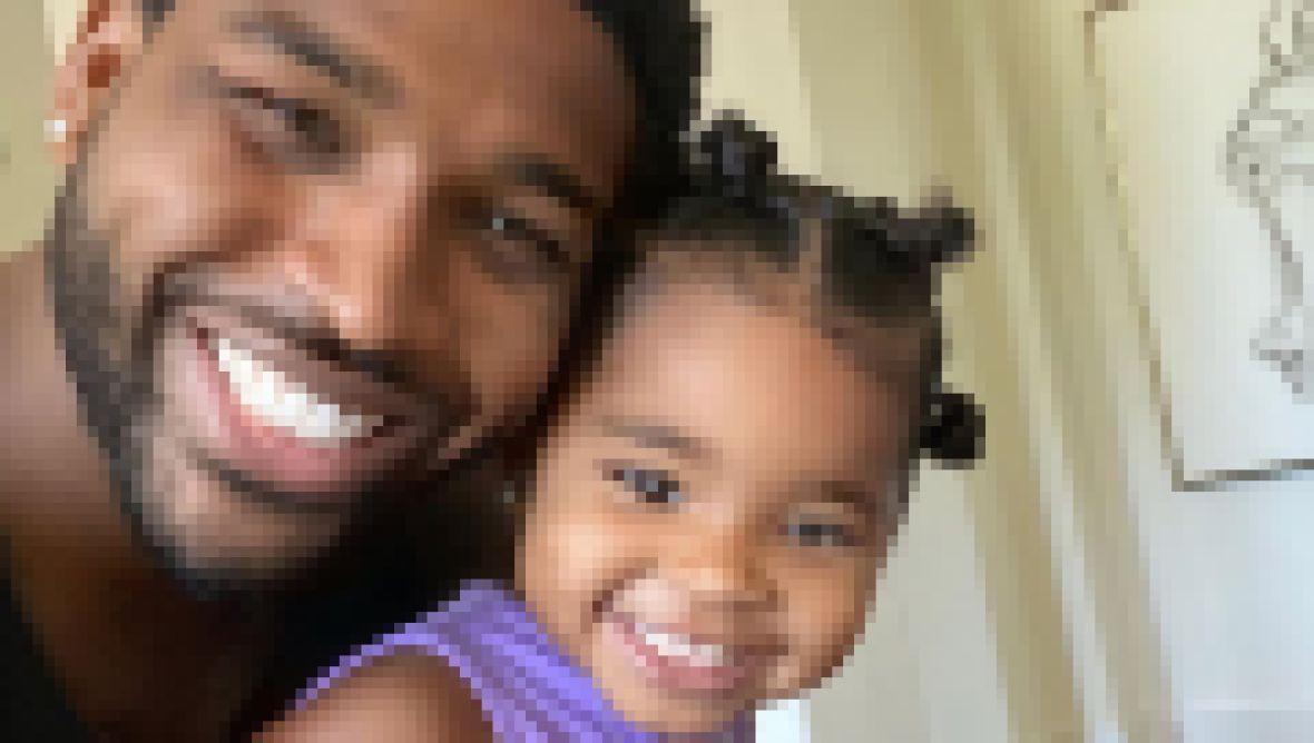 Tristan Thompson Daughter True Cute Selfie