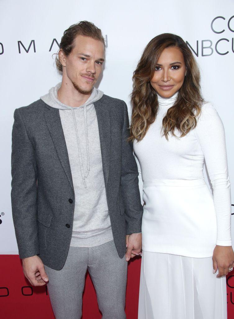 Naya Rivera Wears All White With Ex Husband Ryan Dorsey