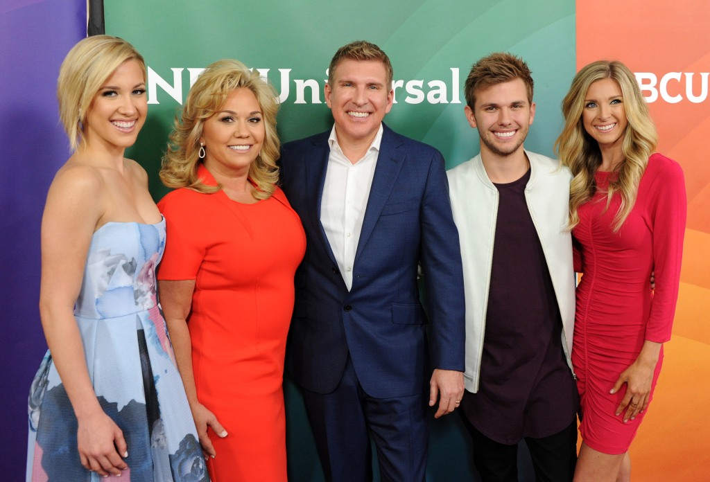 Savannah Chrisley, Julie Chrisley, Todd Chrisley, Chase Chrisley and Lindsie Chrisley Red Carpet