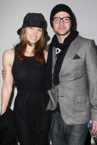 Jessica Biel and Justin Timberlake Fashion Show