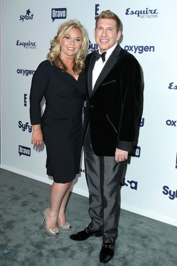 Todd Chrisley Wears Velvet Tux With Wife Julie Chrisley