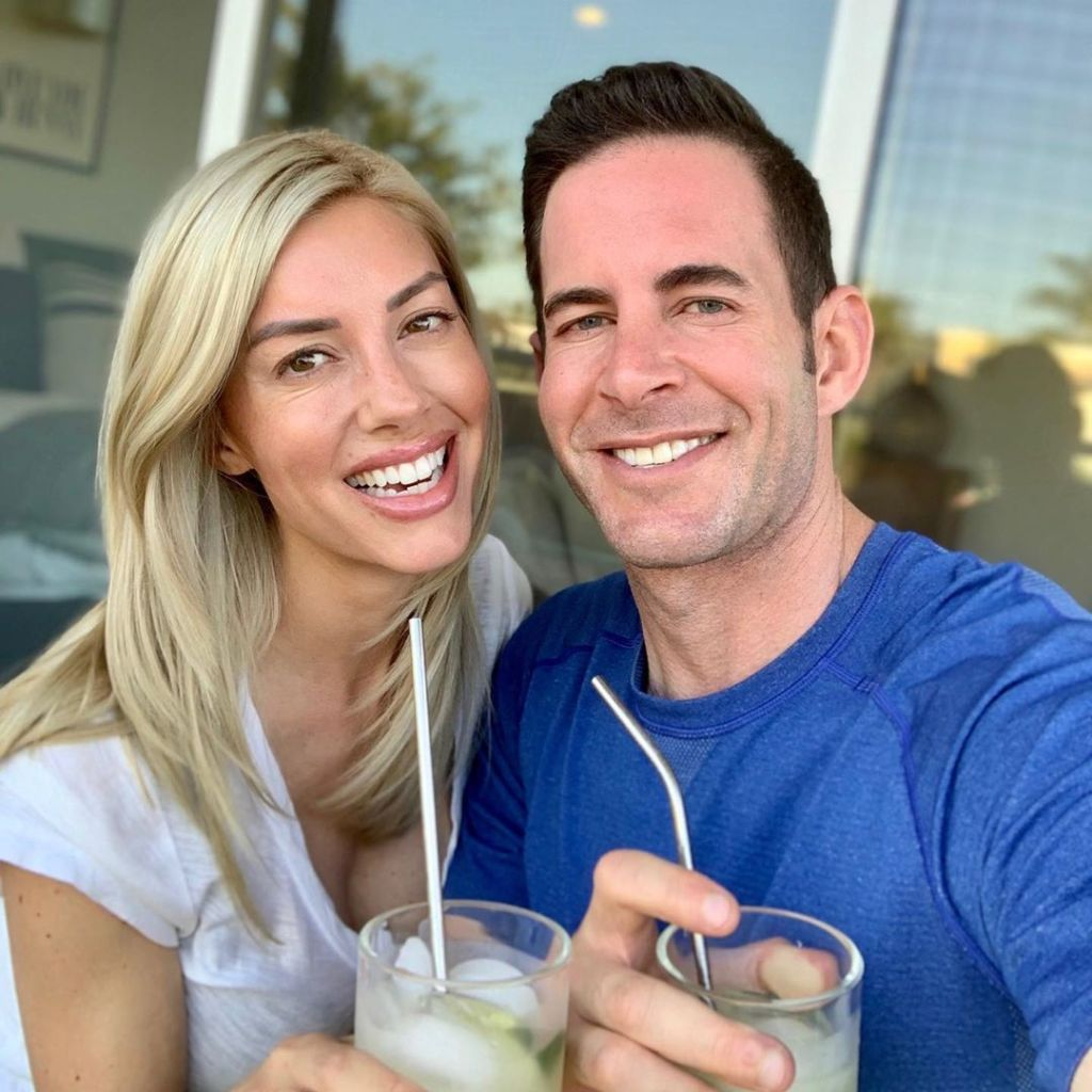 tarek-el-moussa-heather-rae-young-selfie
