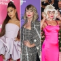 Side-by-Side Photos of Ariana Grande, Taylor Swift and Lady Gaga