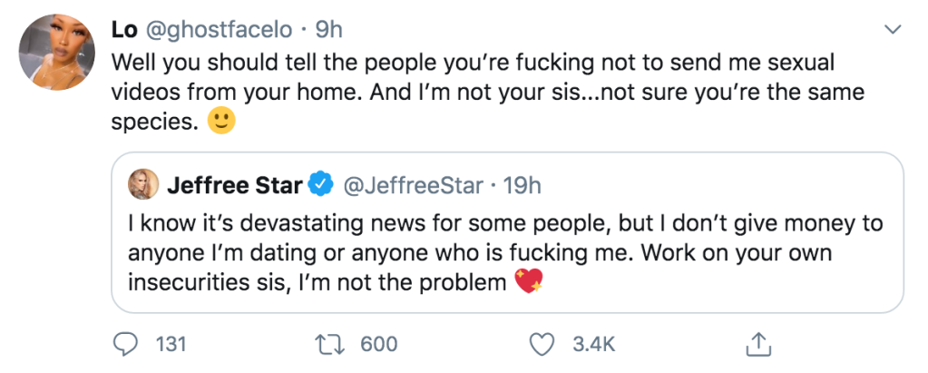 Andre Marhold's Alleged Ex Calls Out Jeffree Star Amid Romance