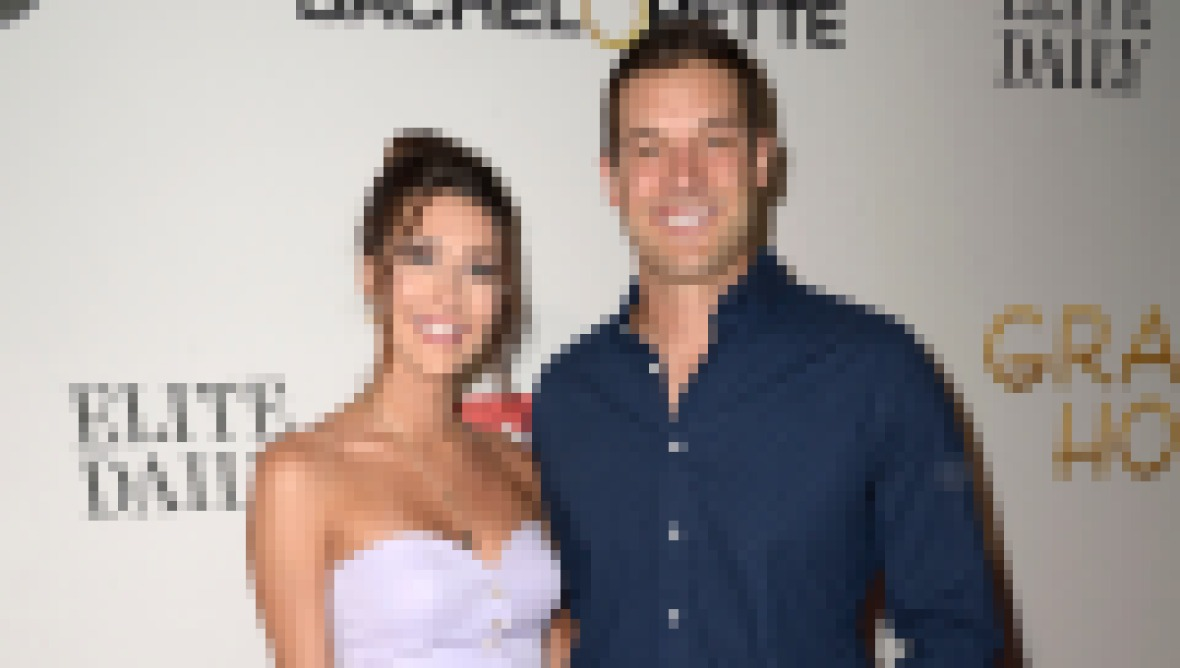 Becca Kufrin and Garrett Yrigoyen on Red Carpet