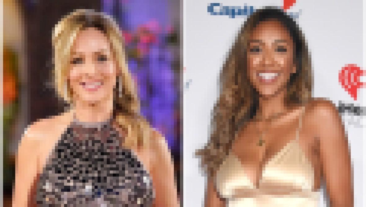 Clare Crawley and Tayshia Adams Bachelorette Contestants
