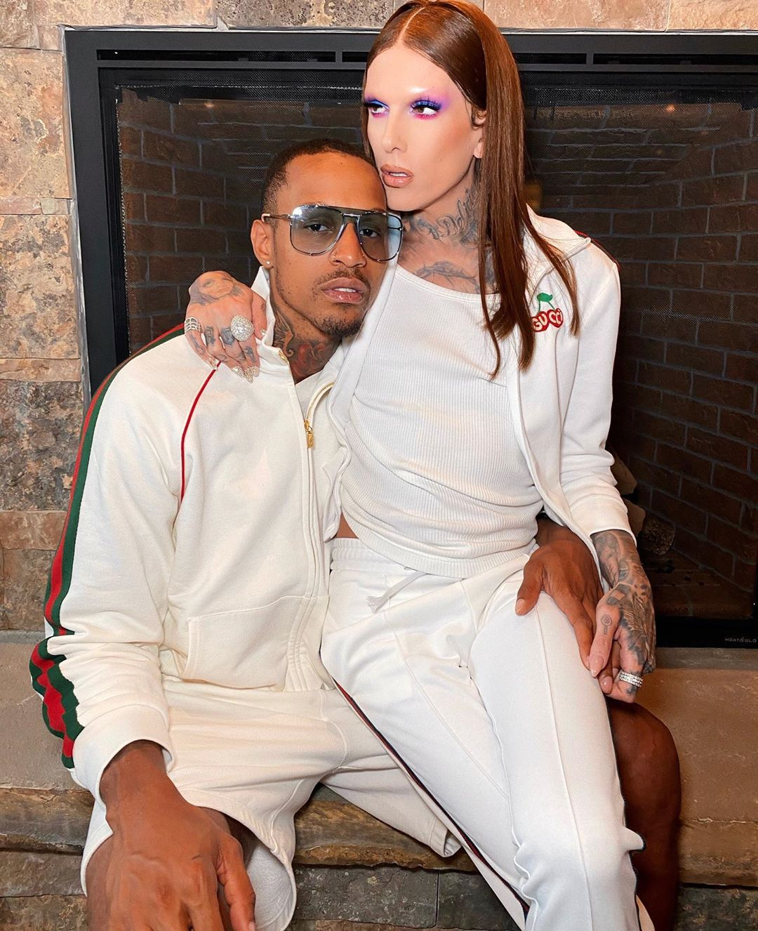 Jeffree Star and boyfriend Andre Marhold