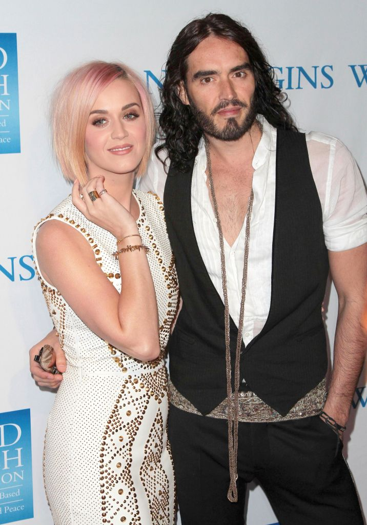 Katy Perry and Russell Brand Photos