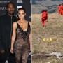 Kim Kardashian, Kanye and Kids Attend Sunday Service After Vacation