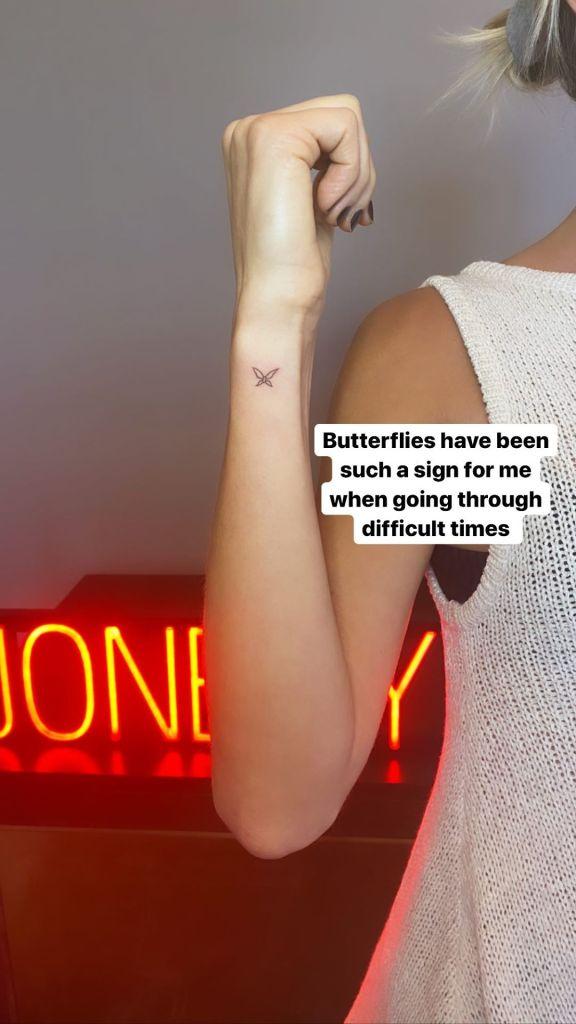 Kristin Cavallari Gets New Butterfly Tattoo Amid Jay Cutler Divorce, Explains Meaning